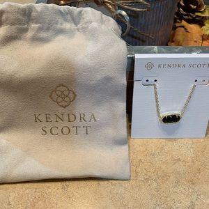 Kendra Scott Gold and Black Druzy Necklace!